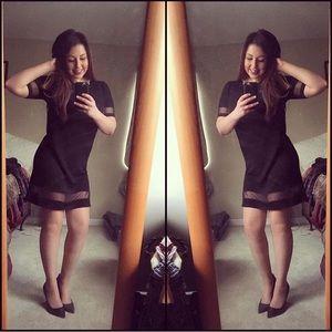 Forever 21 cutout shift dress